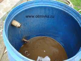 Очистка воды из скважины от песка своими руками