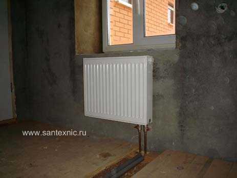 Установка радиатора газ 53