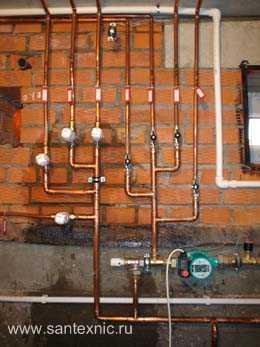 Трубы для водопровода дома