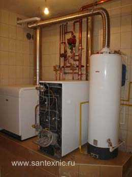 Котельной системы отопления дома