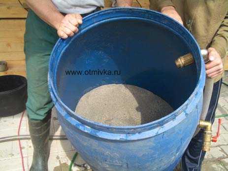 Как сделать фильтр для скважины своими руками для песка 5